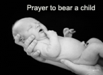 Prayer to bear a Child
